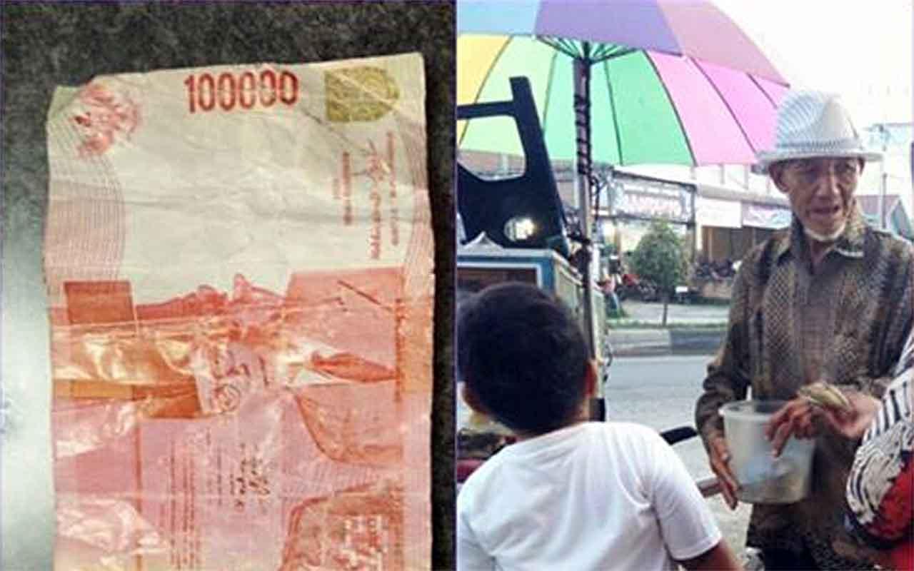 Kisah Kakek Penjual Donat Ditipu Uang Mainan Bikin Banyak Orang Menangis