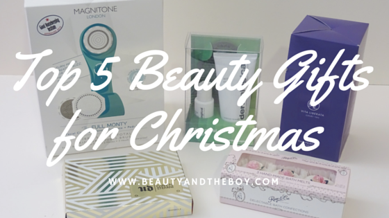 Top 5 Beauty Gifts for Christmas