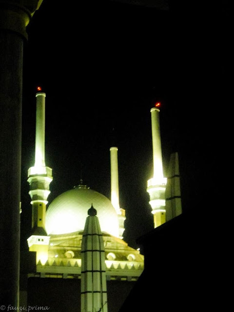 Keindahan Mesjid Agung Semarang