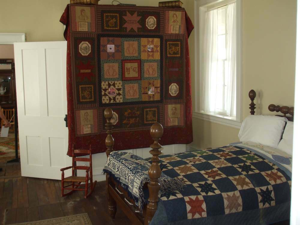 Quilt Display At The Mccook House Carrollton Ohio Wee