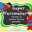 "Math Lesson - ""Super Perimeter--Activities for 3rd Grade CCSS on Perimeter"""