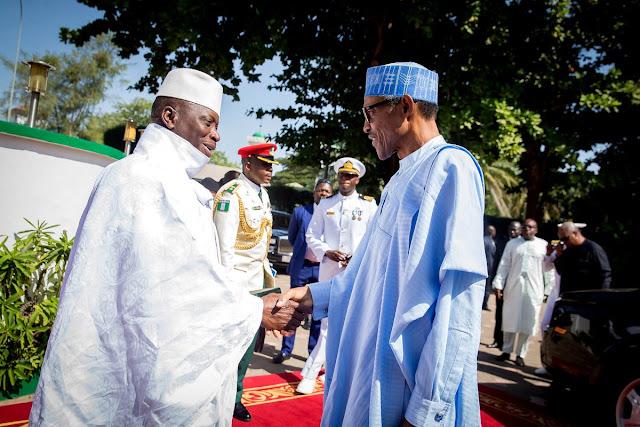 Résultats de recherche d'images pour «Buhari - Gambia's Jammeh Receptive to Mediators»