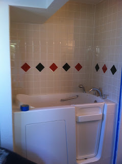 Lapham Construction Walk In Jacuzzi Bathtub In Ridgecrest
