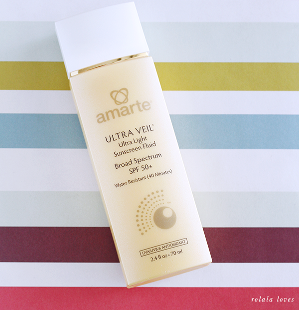 Amarté Ultra Veil SPF 50, Amarte Sunscreen, Sunscreen Review