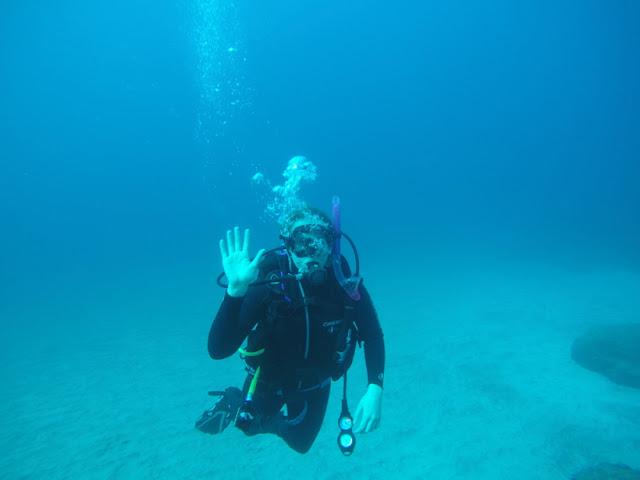 scuba sukellus Gran Canaria, Gran Canary, Underwater gopro