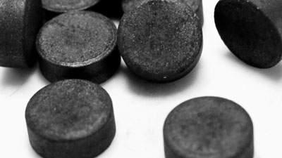 Tablet norit, karbon aktif, activated carbon, arang yang diaktifkan