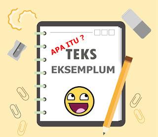 Jika anda gres saja mempelajari Teks Eksemplum Materi Sekolah |  Pengertian Teks Eksemplum : Struktur, Ciri, Karakteristik, Fitur Bahasa dan Contoh Teks Eksemplum.