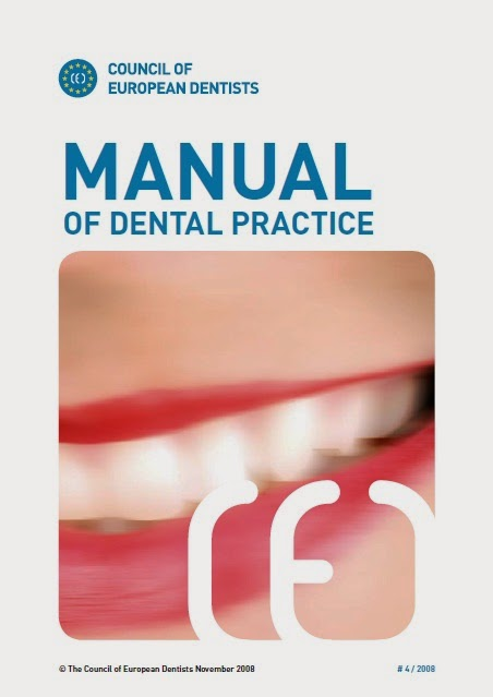 MANUAL OF DENTAL PRACTICE - Council of European Dentists