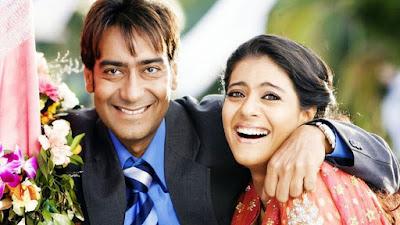 अजय देवगन अपनी पत्नी काजोल के साथ