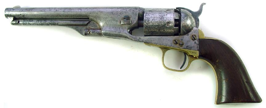 welcome to the world of weapons: Colt 1861 Navy Revolver