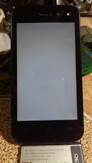 Mengatasi LCD HP Advan S4Z Blank Putih
