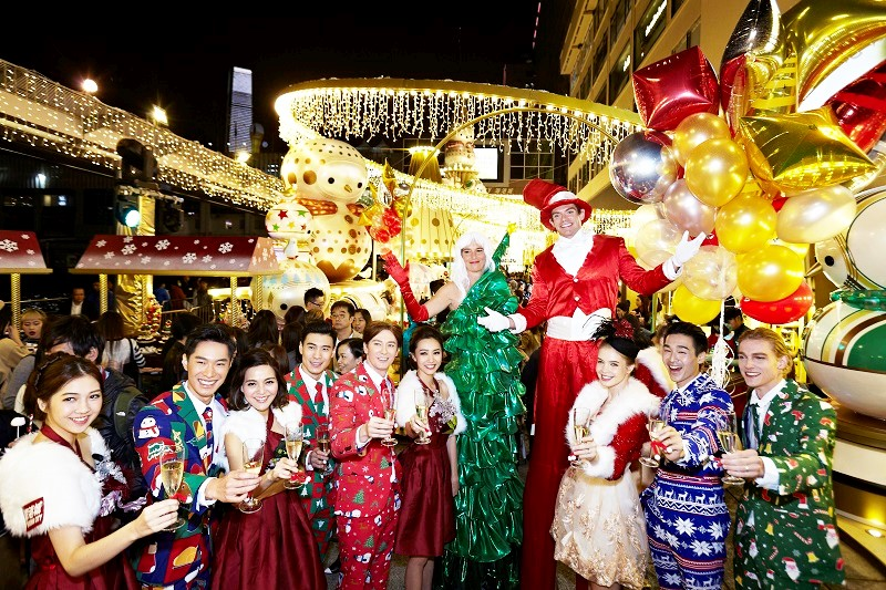 Christmas Party of Snowie at Harbour City