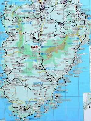 伊豆半島の地図