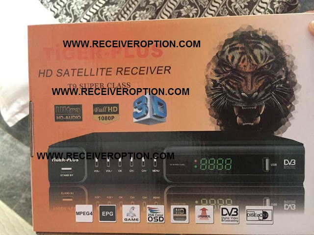 TIGER-PLUS HD RECEIVER CCCAM OPTION