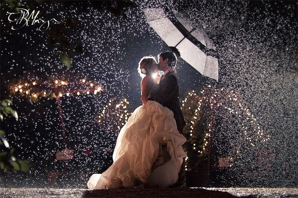 After All They Do Say Rain On Your Wedding Day Is Good Luck So Remember Not Ruined
