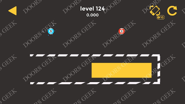 Ball & Ball Level 124 Solution, Walkthrough, Cheats for android and ios