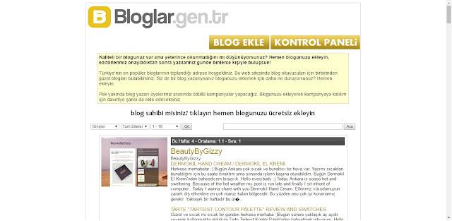 Blog Yazarları, Bloglar.Gen.Tr'ye Sakın Kayıt Olmayın!