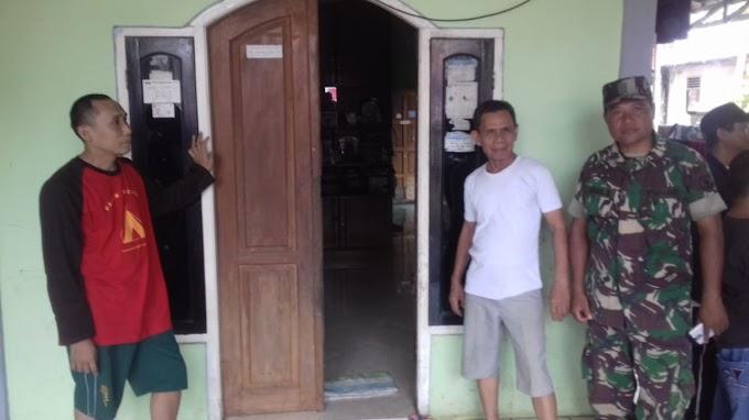 Dukung TMMD, Warga Siapkan Tempat Menginap Anggota TNI