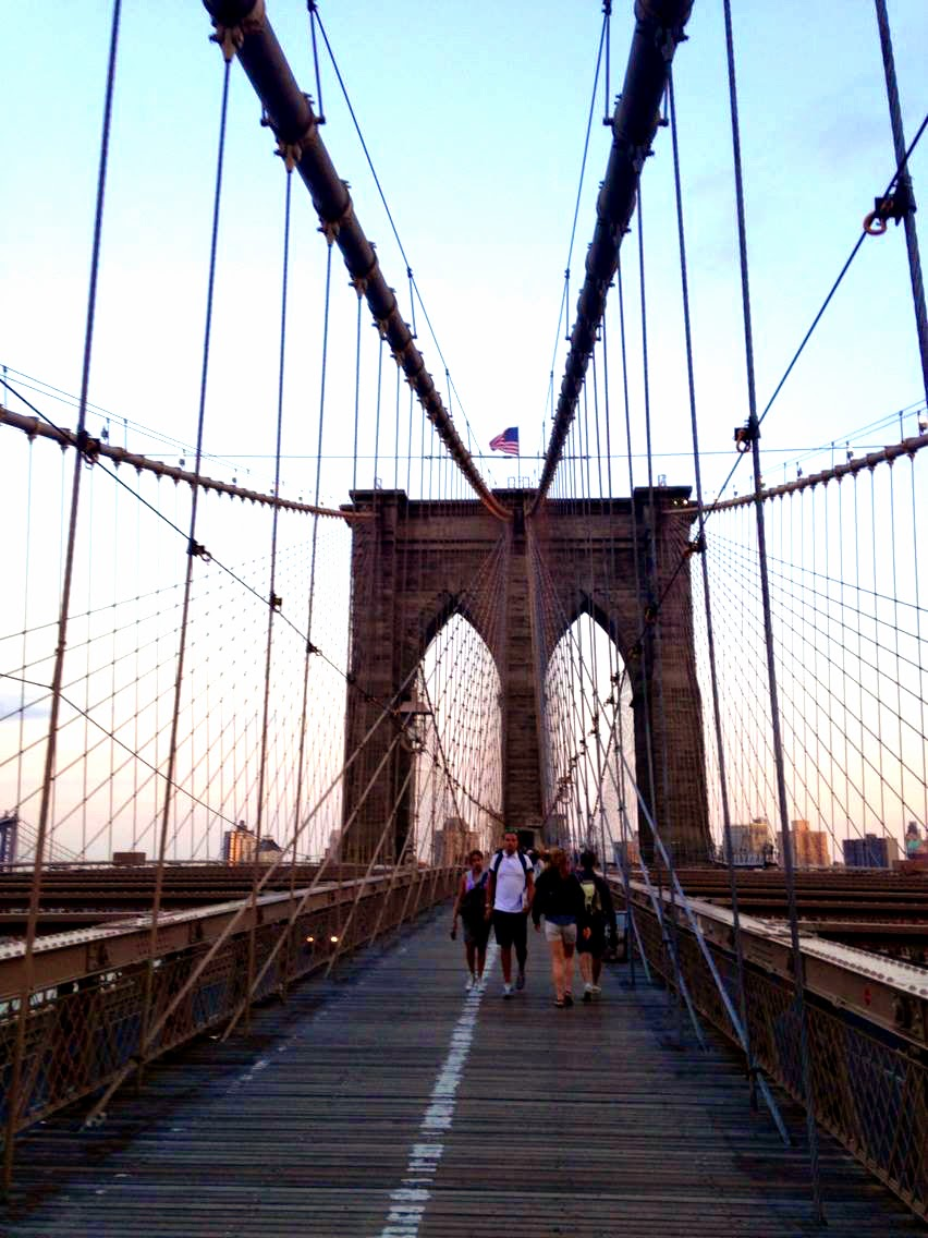 Brooklyn Bridge Walking