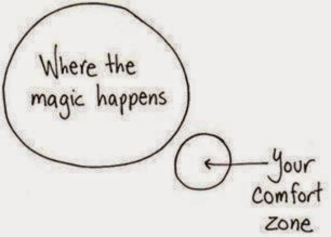 The Compelled Educator: Step Out of Your Comfort Zone
