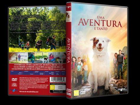 Capa DVD Uma Aventura e Tanto [Custom]