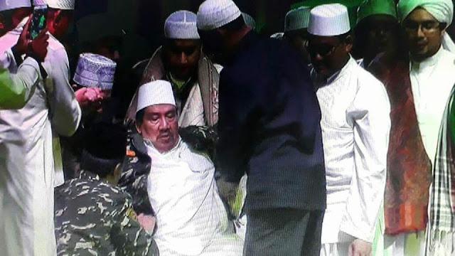 Setelah Habib Jindan, Kini Habib Ali Abdurrahman Assegaf Kenakan Seragam Banser