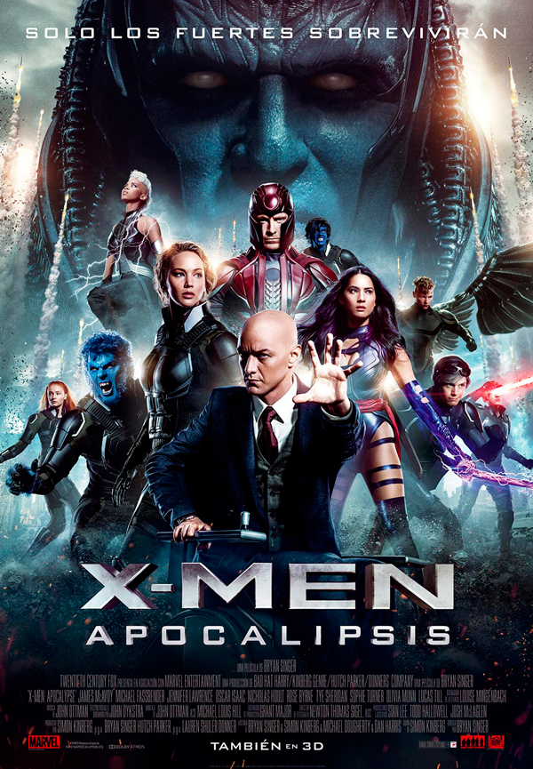 Cartel X-Men: Apocalipsis
