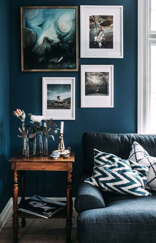 HOW TO USE DARK SHADES IN SMALL SPACES