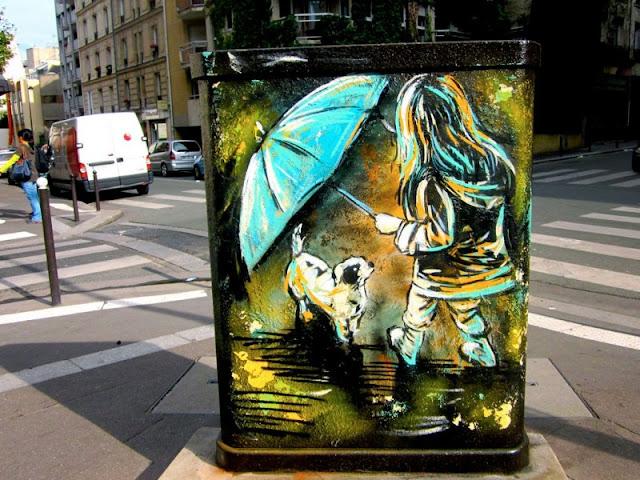 Рисунки на стенах. Alice Pasquini 24