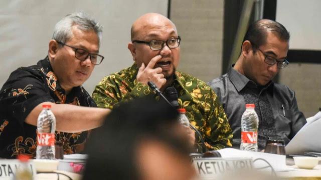 KPU Belum Tahu Viral Surat Suara Tercoblos 01 Sebelum Diberi ke Warga