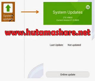 Update software Powerphone Bolt ZTE
