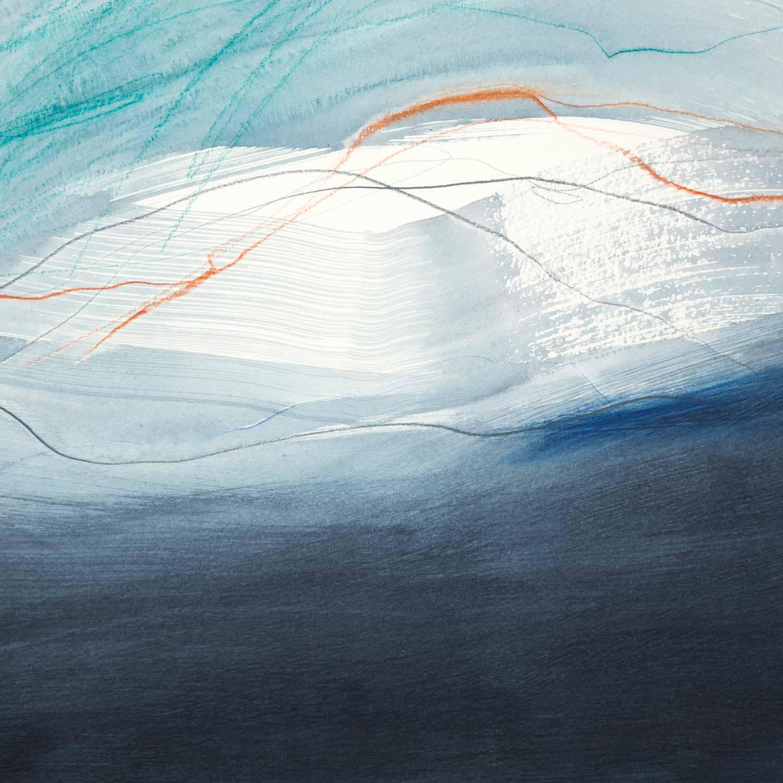 30 x 30 cm aquarelle et crayons sur papier 12 oct 13