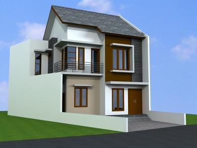 rumah minimalis sederhana 2 lantai type 36   harga rumah tipe