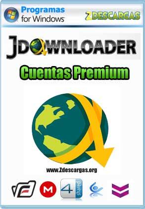 Cuentas Premium JDownloader 2 actualizadas 2019
