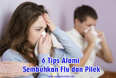 6 Tips Alami Sembuhkan Flu dan Pilek