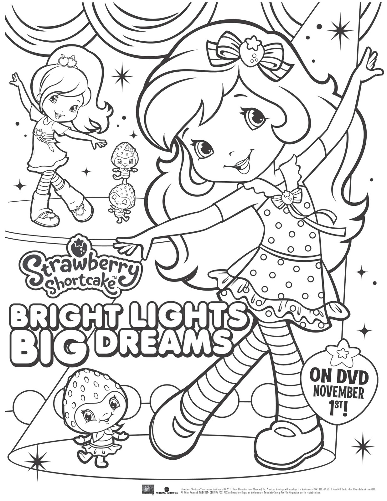 Pre-book for STRAWBERRY SHORTCAKE: BRIGHT LIGHTS, BIG