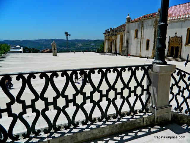 Via Latina, a varanda do Paço das Escolas das Universidade de Coimbra