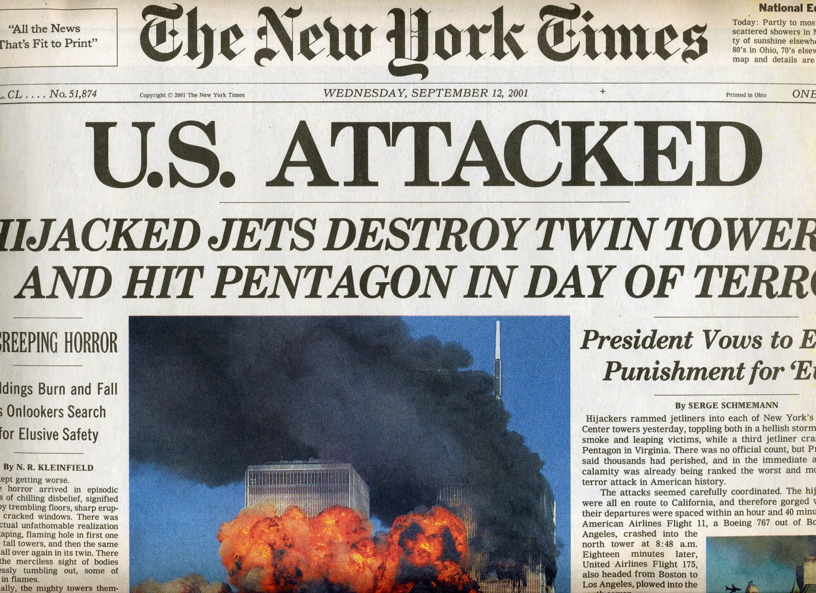 Terrorist attacks 9-11 facts to help you write a paper