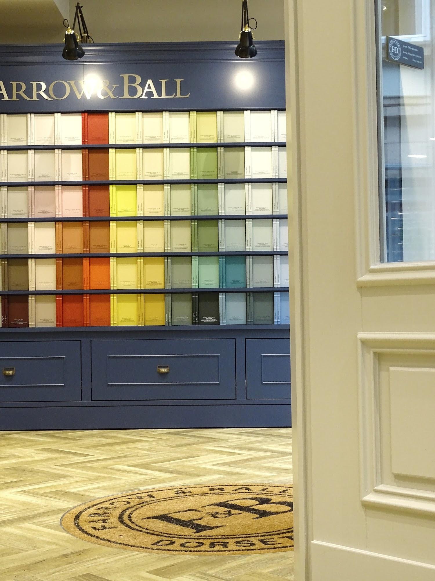 Farbe für deine Wände - Besuch im Farrow & Ball Showroom in Düsseldorf - https://mammilade.blogspot.de