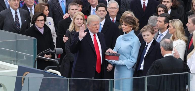 Τραμπ: Η Αμερική θα είναι πρώτη και πάνω απ' όλα