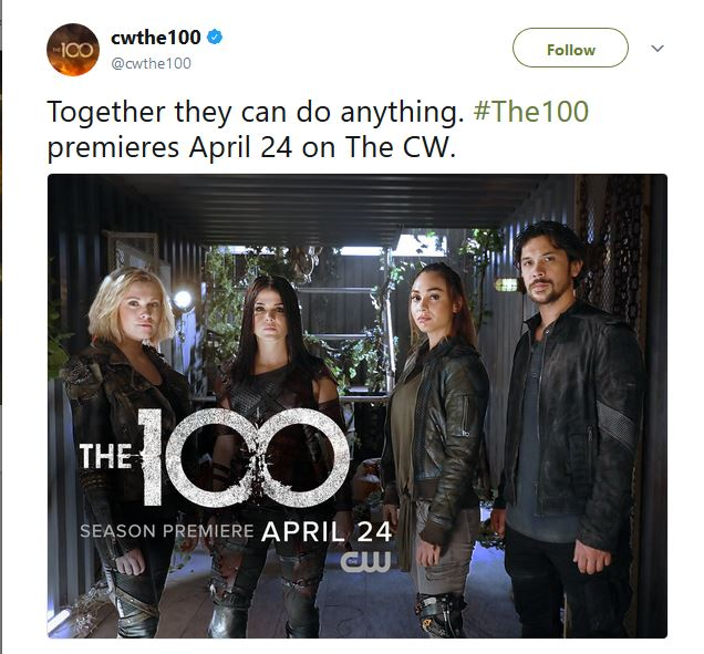 The 100 - Season 5 - Promos, Opening Titles, Interviews + Posters