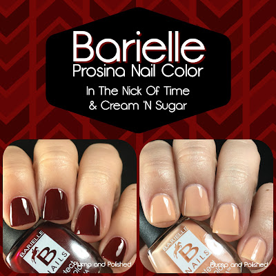 Barielle - In The Nick of Time & Cream 'N Sugar [Prosina Nail Color]