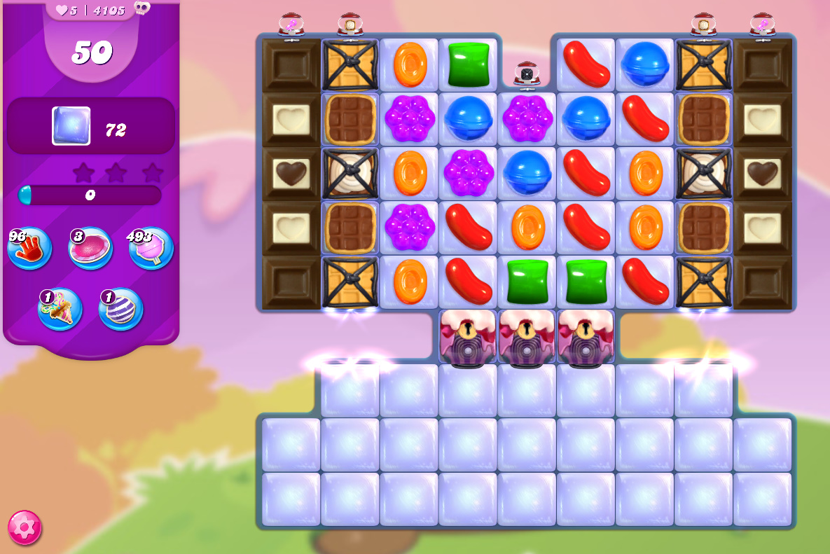 Candy Crush Saga level 4105