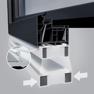 Ciepły montaz okna PCV