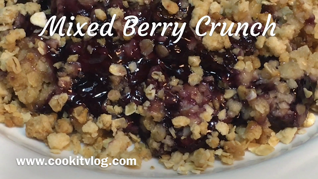 Mixed Berry Crunch Recipe
