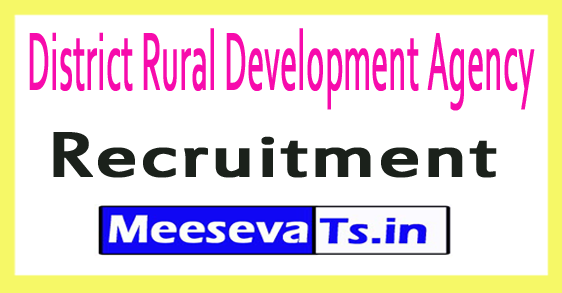 District Rural Development Agency DRDA Recruitment