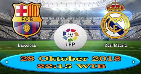 Prediksi Bola855 Barcelona vs Real Madrid 28 Oktober 2018