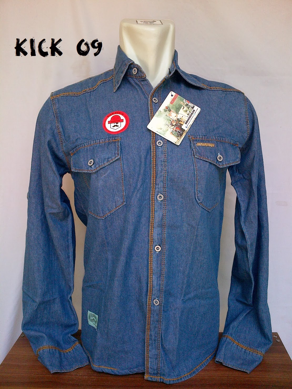 Jaket Levis Kick Denim