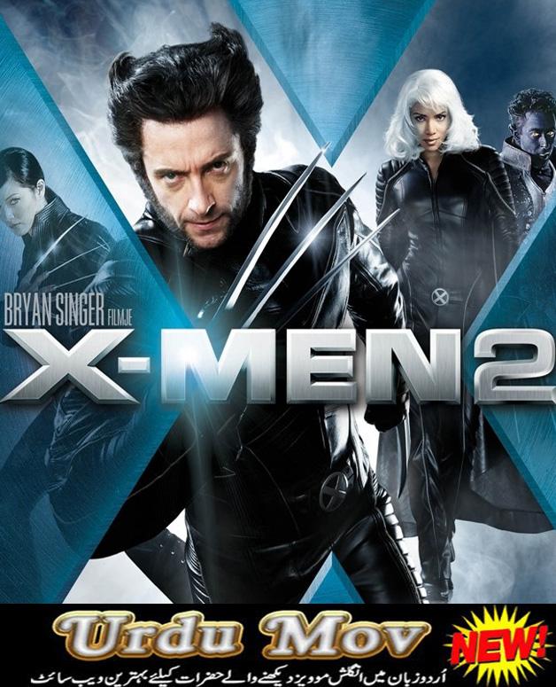 X men 2 (2003) free download hollywood hindi urdu dubbed movie.