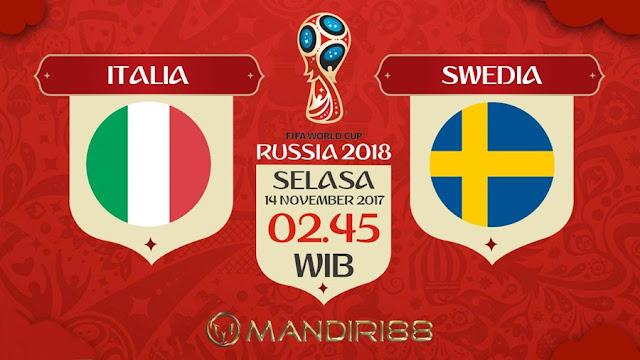 Prediksi Bola : Italy Vs Sweden , Selasa 14 November 2017 Pukul 02.45 WIB